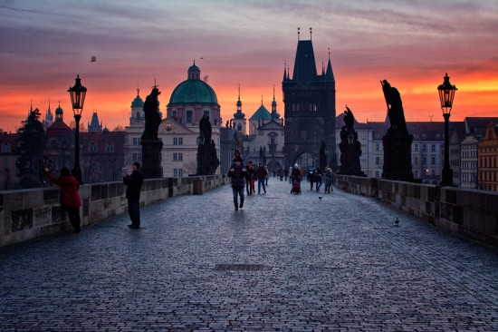 Czech Republic Prague. Charles Bridge