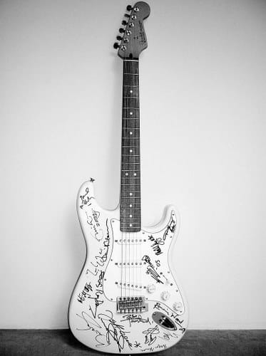 fender stratocaster most expensive guitars