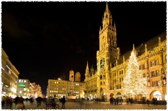 Germany Munich. Marienplatz