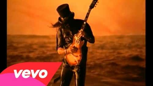 guns n roses most expensive music videos