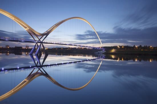 Infinity Bridge, UK