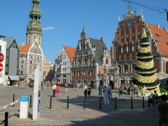 Latvia Riga. Old City Riga