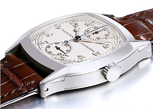 Patek-Philippe-1928-Single-Button Chronograph Watch