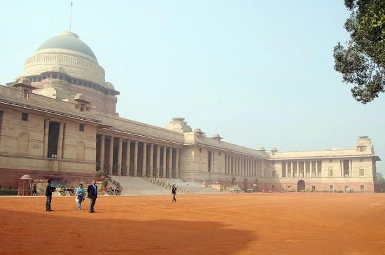 Rashtrapati Bhavan, India