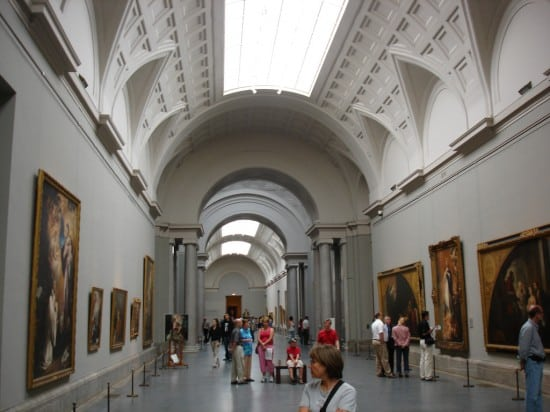 Spain Madrid. Prado Museum