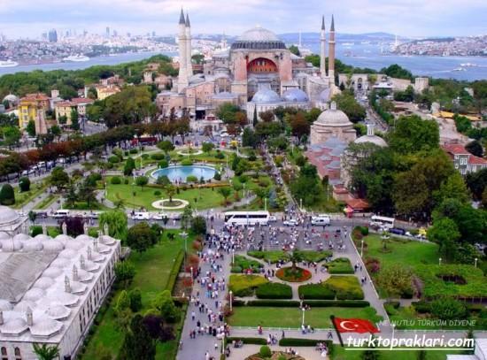 Turkey Istanbul. Hagia Sophia Museum