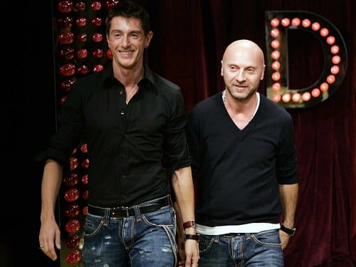 dolce & gabbana most influential fashion designers