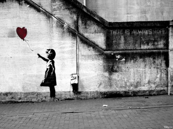 Banksy Art - Balloon Girl