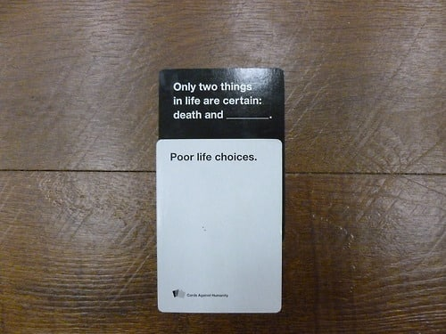 Image of: Buzzfeed Cards Against Humanity Firebox Cards Against Humanity Our Walkthrough For The Coolest Society Game