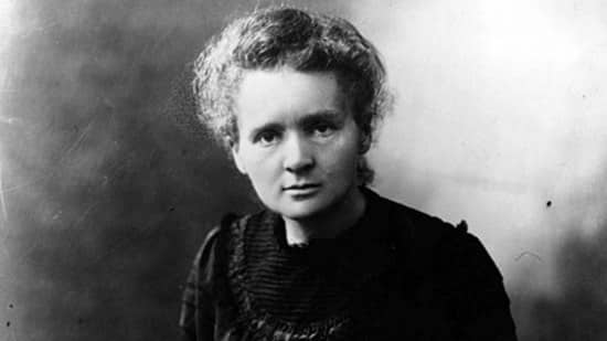 Famous Women in History marie curie