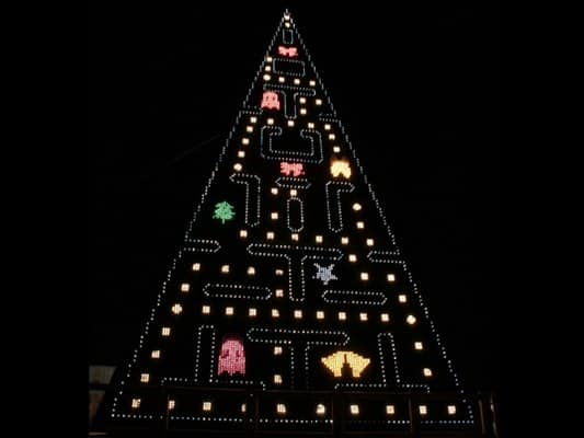 LED Christmas Lights let the Geek inside shine