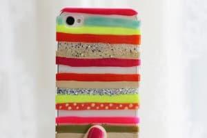 DIY phone cases