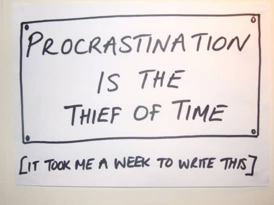 5 Proven to Work Techniques to Stop Procrastinating and Get things Done