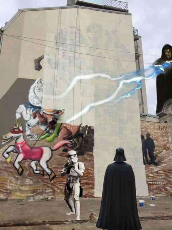 Romania Street Art Takedown