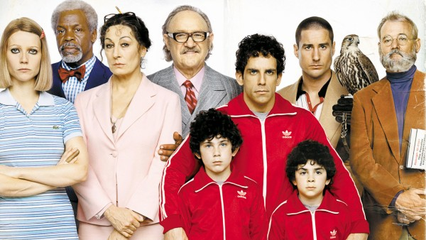 The Royal Tenenbaums are portraited on 8 Amazing Portraits from Wes Anderson Movies