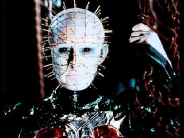 The list of 5 interesting facts about Hellraiser includes Pinhead.