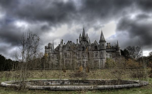 The list of 7 places on earth that will give you shivers includes the Chateau Miranda.