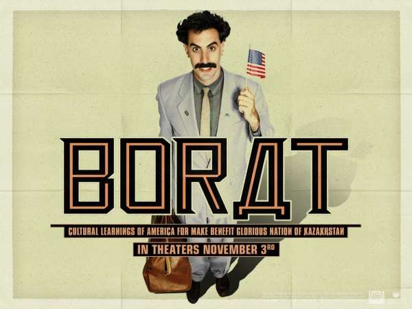 As it has offended the culture of come countries, Borat has been banned in several places.
