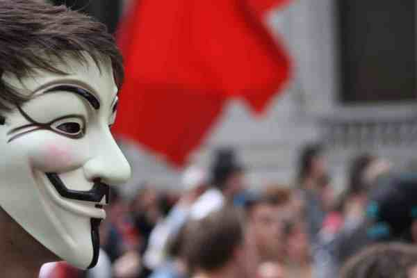 The mask of the hacker group Anonymous has created a lot of controversy.