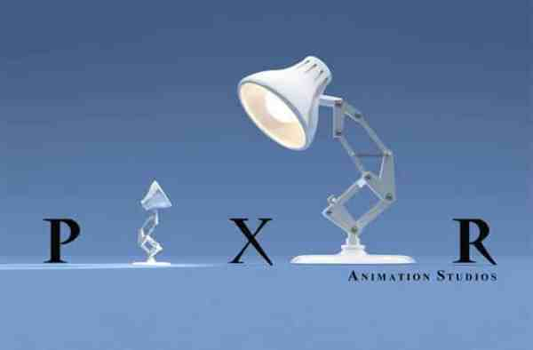 The Pixar lamp is a well known symbol.