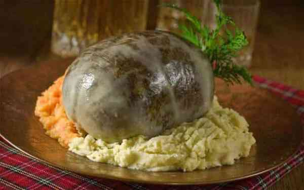 The Scottish Haggis is one of the 10 unexpected items banned from import.