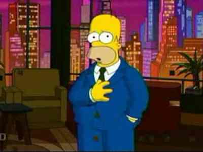 Homer's impersonation has a spot in the top 7 Simpsons gags you missed.