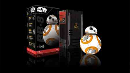 One of the newer toys from the series is the BB-8.