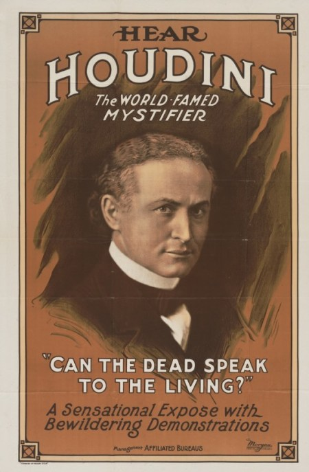 Houdini was well known to expose scams.