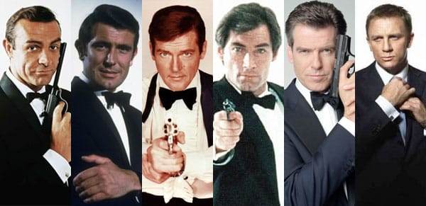 One of the fan theories that will blow your mind is that Bond might be only a codename.