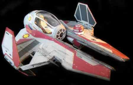 Any collection would be incomplete without the Jedi Starfighter.