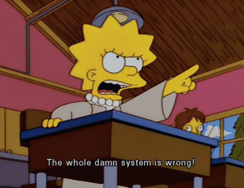 Lisa Simpson is probably the best option for a president.