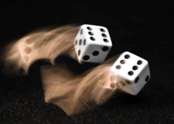 Dices are among the items believed to be created by the Devil.