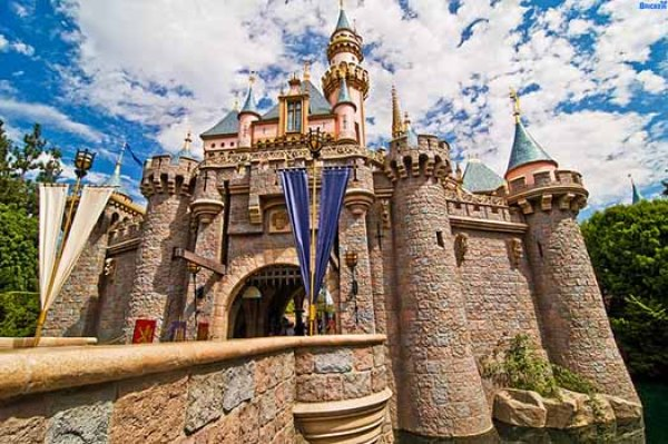 This is the original Disney amusement park.