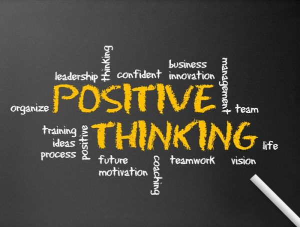 Thinking positively is among the methods to improve your self-confidence.