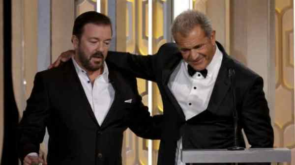 One of the most talked moments from the 2016 Golden Globes was definitely the meeting between Ricky Gervais and Mel Gibson.