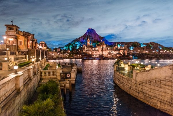 Tokyo DisneySea is among the most visited amusement parks.
