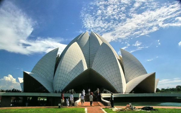 Most Beautiful Temples In Asia - Lotus Temple