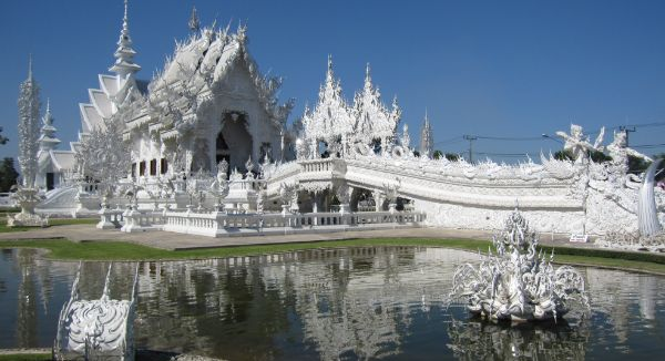 Wat Rong Khun, On This List As Most Beautiful Temples In Asia