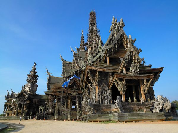 Sanctuary of Truth - Most Beautiful Temples In Asia