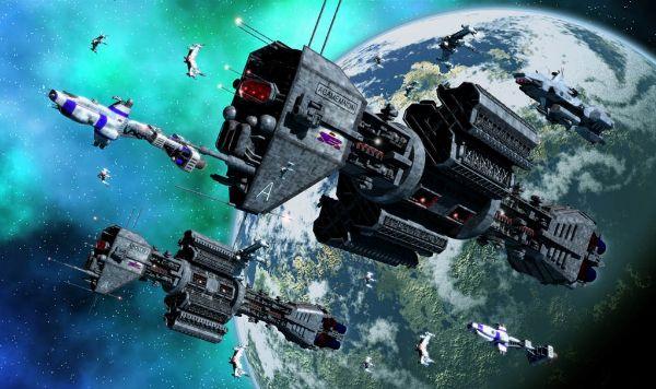 Terrifying Alien Conspiracies - War Fleet