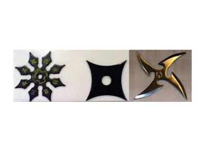 Shurikens, Among The Insane Things Found By Airport Security