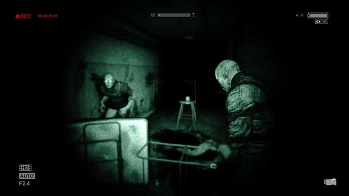 screenshot of outlast