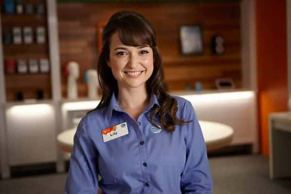 AT&T Commercial Girl