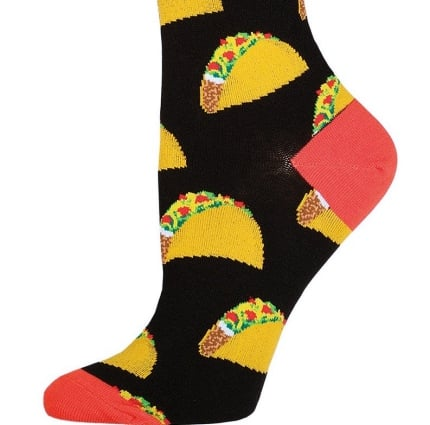 good white elephant gift ideas taco socks