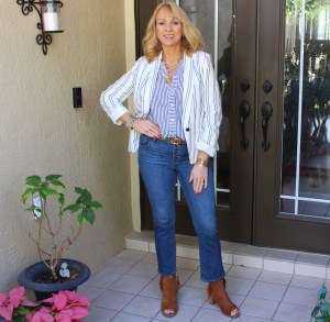 #Cropped Flare Jeans