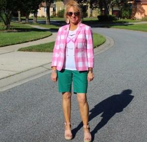 Green Walking Shorts