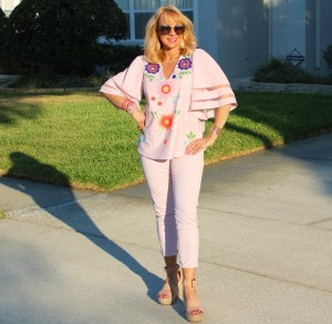Pink Top and Pants
