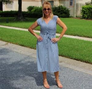 Amazon Striped Dress