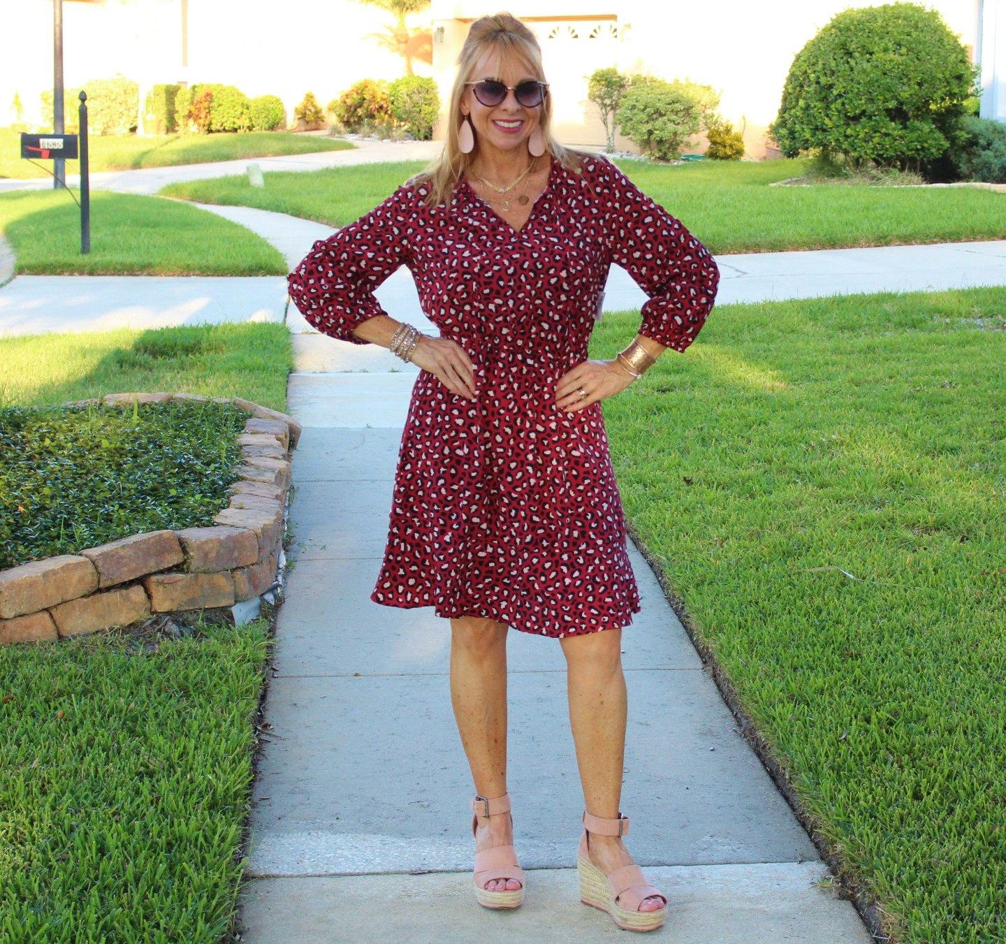 Old Navy Leopard Dress