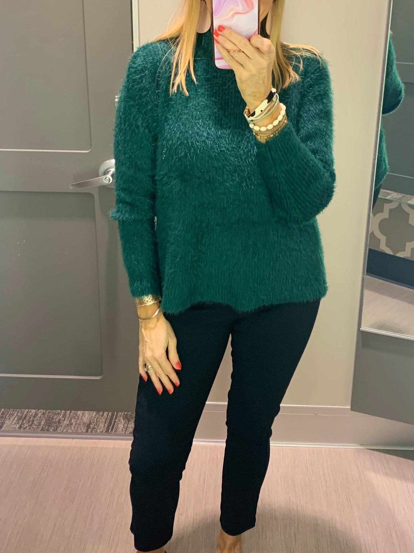 Target Eyelash Sweater